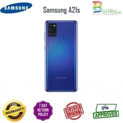 Samsung A21s Blue